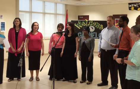 Teacher's vocal ensemble