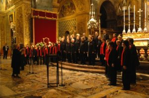 Voices Choeur International opens the International Festival of Sacred Music at the La Valetta Co-Cathedral in Malta