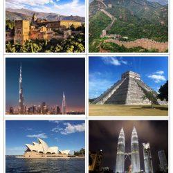 Les grands monuments