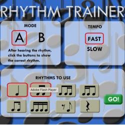 The Rhythm Trainer